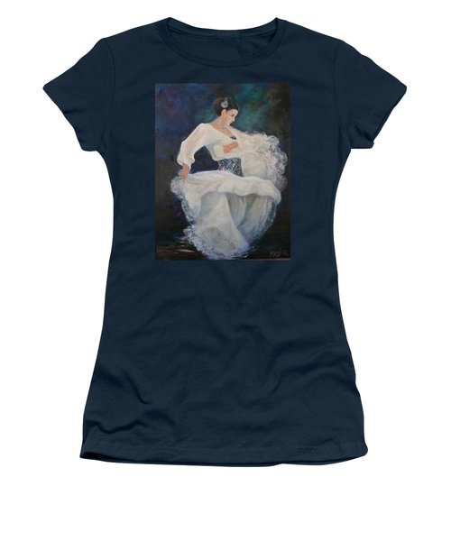 Flamenco 2 Women's T-Shirt (Athletic Fit)