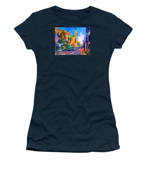 Flinders Street - Original Sold Women's T-Shirt (Junior Cut) by Therese Alcorn