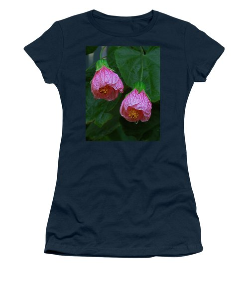 Flowering Maple Women's T-Shirt (Athletic Fit)