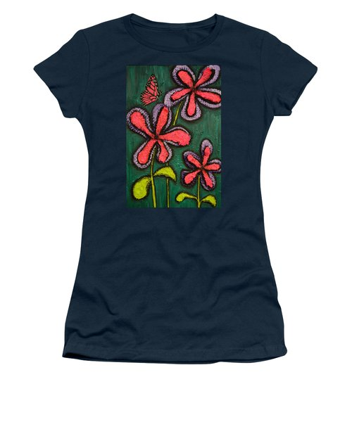 Flowers 4 Sydney Women's T-Shirt (Junior Cut) by Shawn Marlow