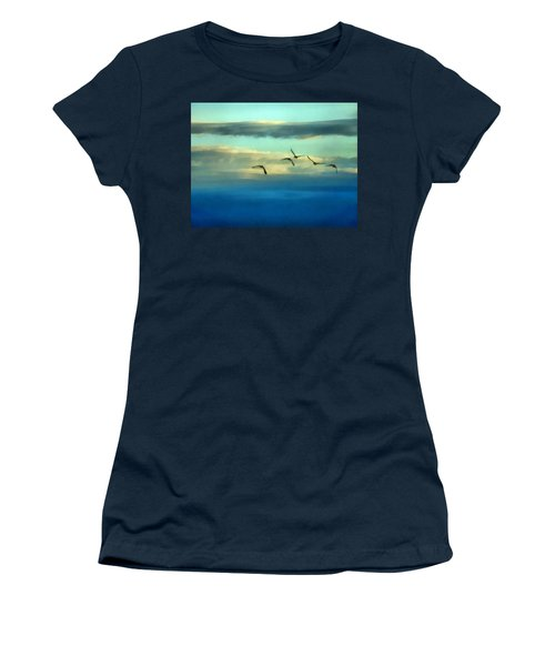 Fly Away Women's T-Shirt (Athletic Fit)