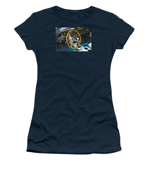 Ford Mustang Shelby Women's T-Shirt (Junior Cut) by Pamela Walrath
