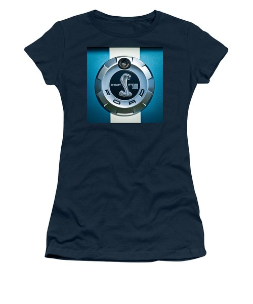 Ford Shelby Gt 500 Cobra Emblem Women's T-Shirt