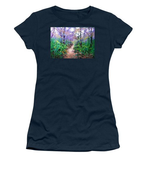Forest Of Summer Women's T-Shirt (Athletic Fit)
