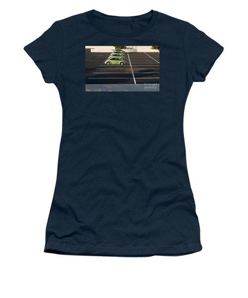 Four Green Beetles Women's T-Shirt