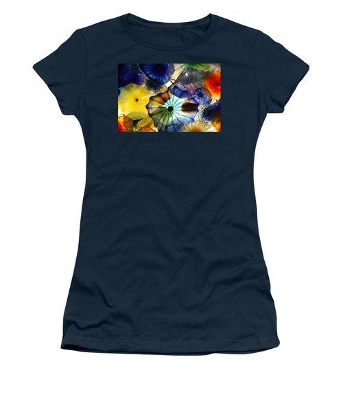 Fragile Flower Women's T-Shirt (Athletic Fit)