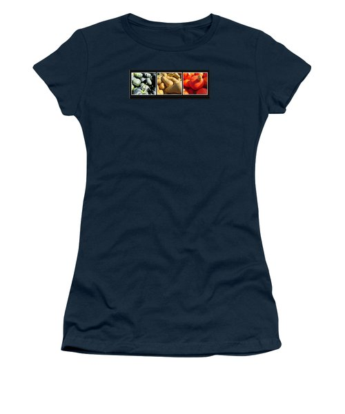 Women's T-Shirt (Junior Cut) featuring the photograph Colors Of Autumn 1 by Tina M Wenger