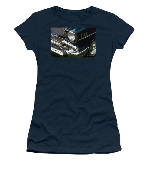Front Side Of A Classic Car Women's T-Shirt