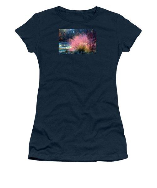 Frosty Scene Women's T-Shirt (Athletic Fit)
