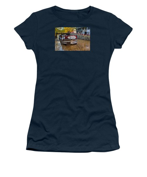 Georgetown Barge Women's T-Shirt (Athletic Fit)