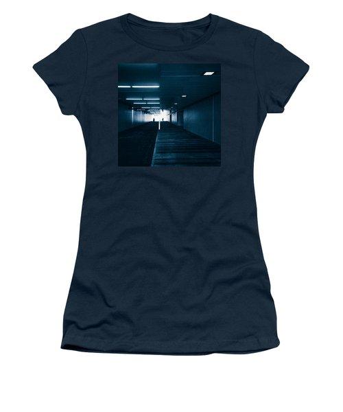 Gloomy Blue Women's T-Shirt