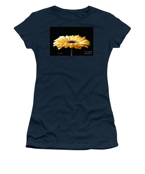 Golden Gerbera Daisy No 2 Women's T-Shirt (Athletic Fit)