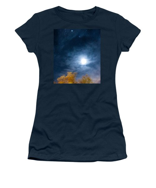Golden Tree  Women's T-Shirt (Junior Cut) by Angela J Wright