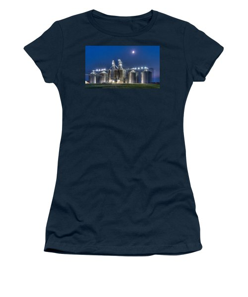 Grain Processing Plant Women's T-Shirt (Athletic Fit)
