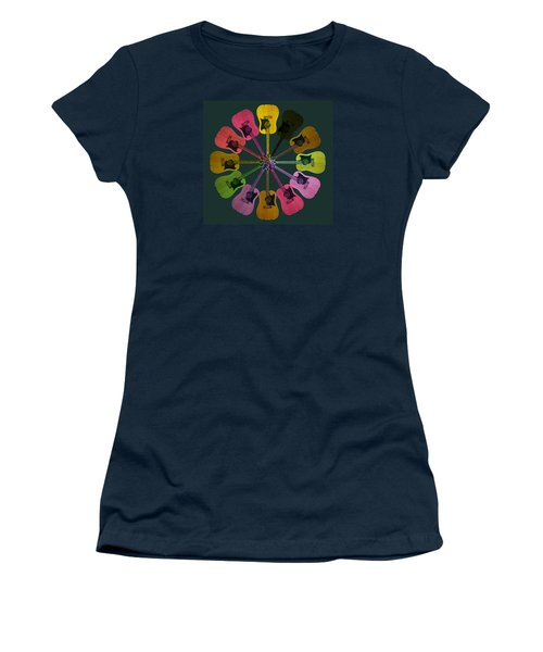 Guitar O Clock Women's T-Shirt (Athletic Fit)