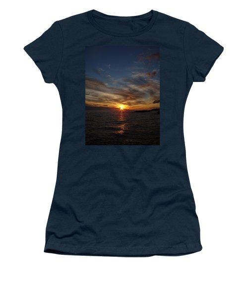 Women's T-Shirt (Junior Cut) featuring the photograph Gull Rise by Bonfire Photography