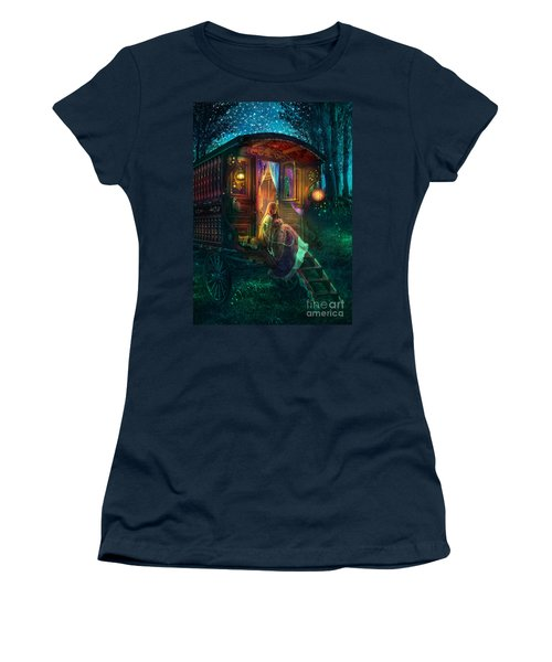 Gypsy Firefly Women's T-Shirt (Athletic Fit)