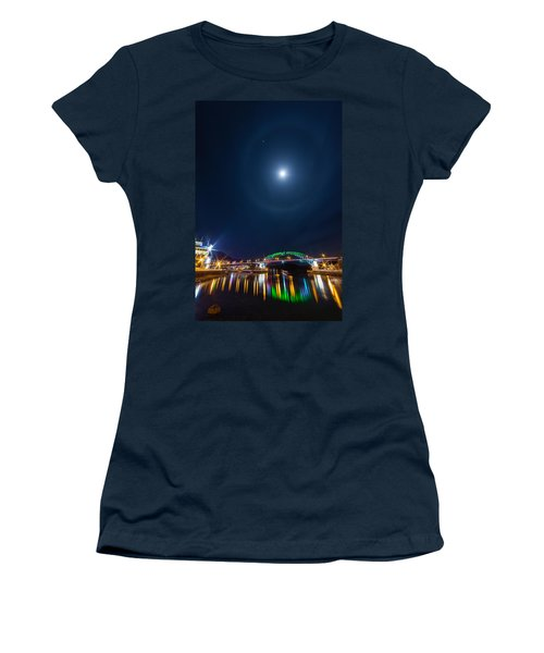 Halo Above The Bridge Women's T-Shirt (Athletic Fit)
