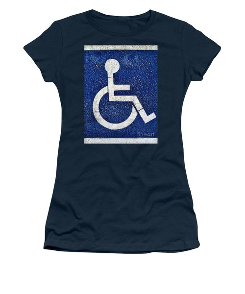 Handicapped Symbol Women's T-Shirt
