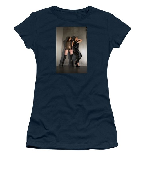 Women's T-Shirt (Junior Cut) featuring the photograph Hard And Soft by Mez