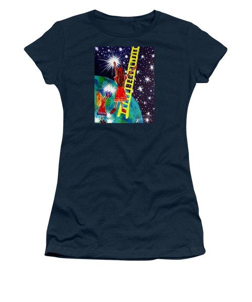 Helping Hands Women's T-Shirt (Junior Cut) by Jackie Carpenter