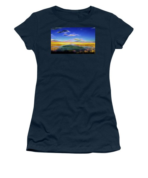 High Desert Lake Women's T-Shirt (Junior Cut) by William Horden