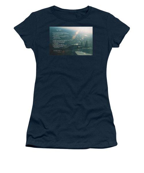High Flight T-38c Women's T-Shirt