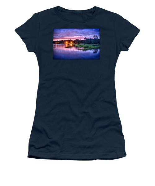 Hilton Head Evening Marsh Women's T-Shirt (Athletic Fit)