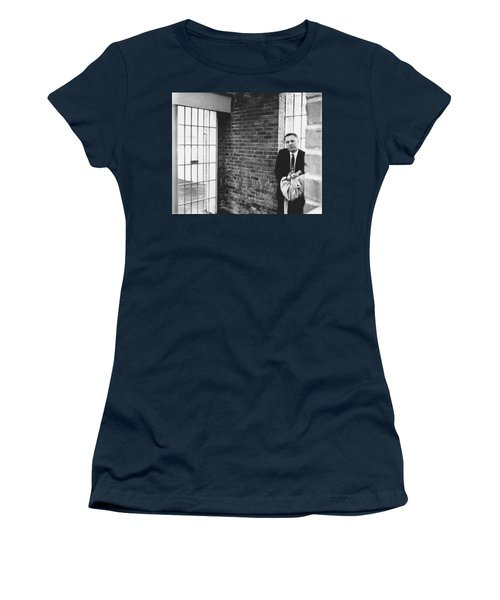Hoffa Enters Federal Prison Women's T-Shirt