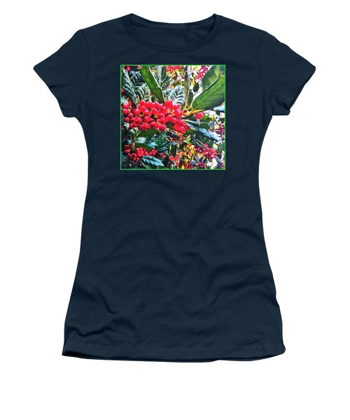 Holly Berries In The Sun Women's T-Shirt