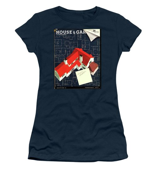 House And Garden Houses With Plans Cover Women's T-Shirt