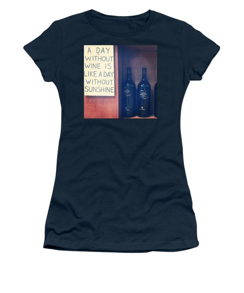 A Day Without Wine Women's T-Shirt