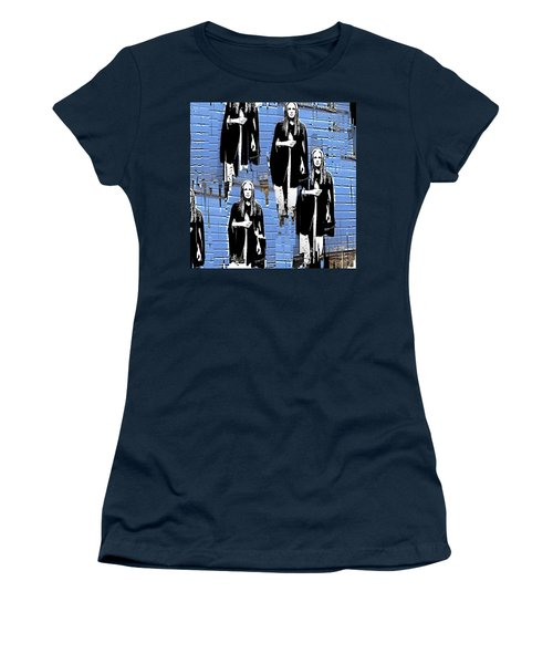 I'm Alone Women's T-Shirt (Athletic Fit)