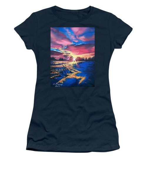 In The Still Of Dawn  Women's T-Shirt