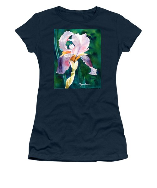 Iris 1 Women's T-Shirt (Junior Cut) by Marilyn Jacobson