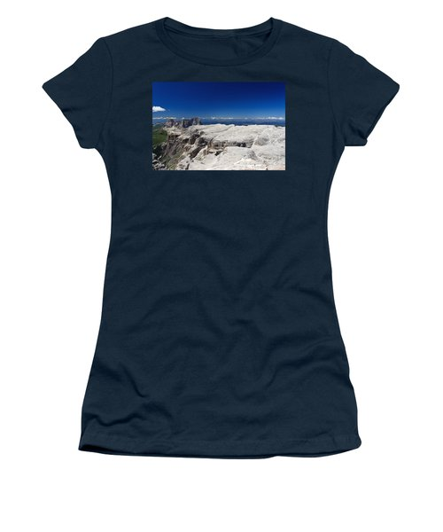 Italian Dolomites - Sella Group Women's T-Shirt (Athletic Fit)