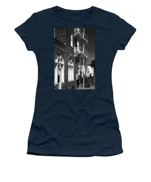 Jacaranda Hotel Fire Escape Women's T-Shirt