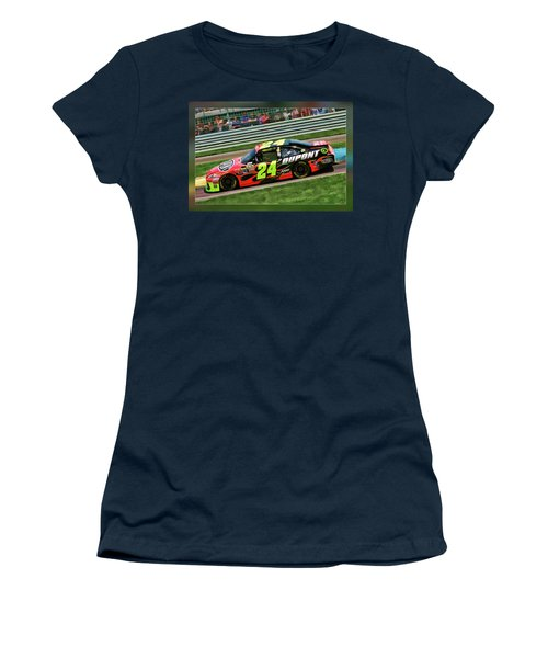 Jeff Gordon Women's T-Shirt (Athletic Fit)