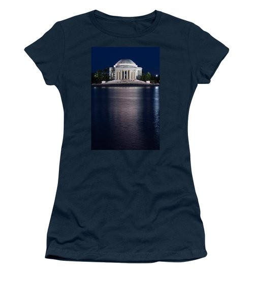 Jefferson Memorial Washington D C Women's T-Shirt (Athletic Fit)