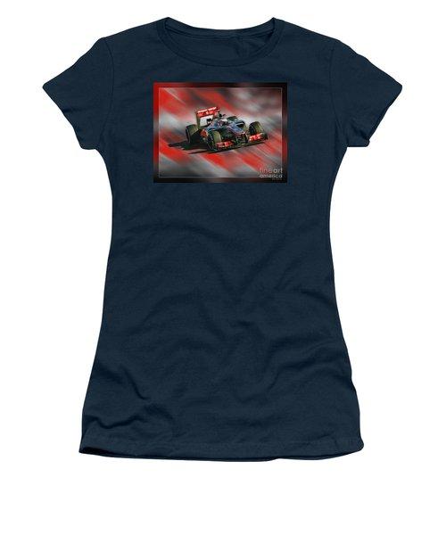 Jenson Button  Women's T-Shirt