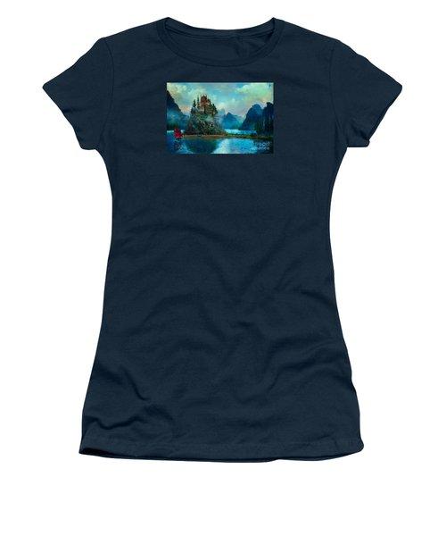 Journeys End Women's T-Shirt (Junior Cut) by Aimee Stewart