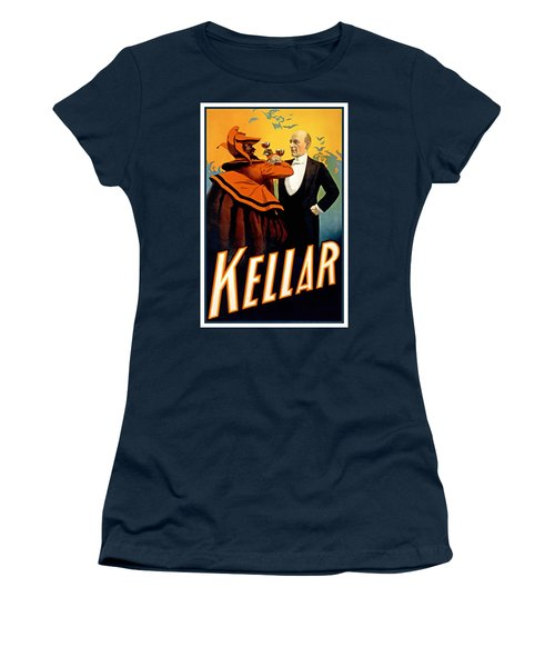 Kellar Toasts The Devil Women's T-Shirt (Athletic Fit)