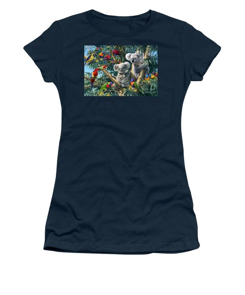 Koala Outback Women's T-Shirt (Athletic Fit)