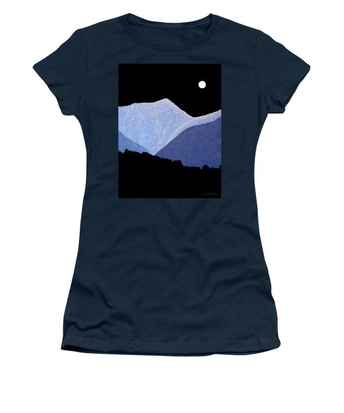 Kootenay Mountains Women's T-Shirt (Athletic Fit)
