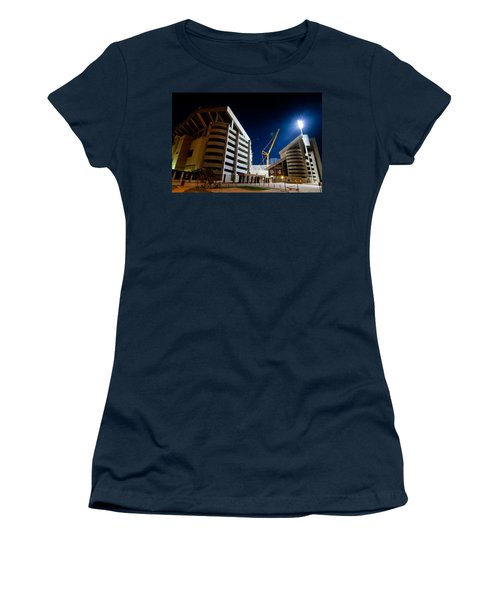 Kyle Field Construction Women's T-Shirt (Junior Cut) by Linda Unger