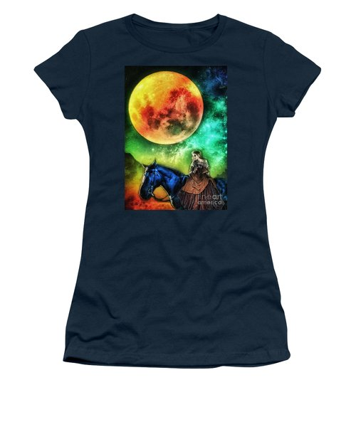 La Luna Women's T-Shirt (Athletic Fit)