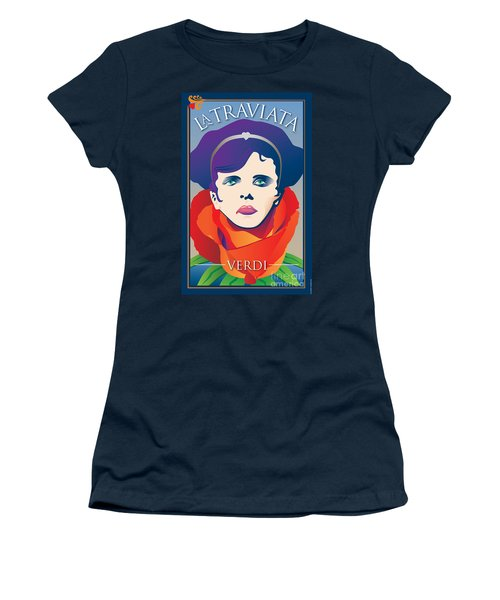 La Traviata Opera Women's T-Shirt (Athletic Fit)