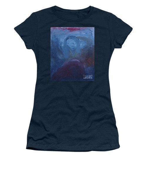 Lady Blue Women's T-Shirt (Athletic Fit)