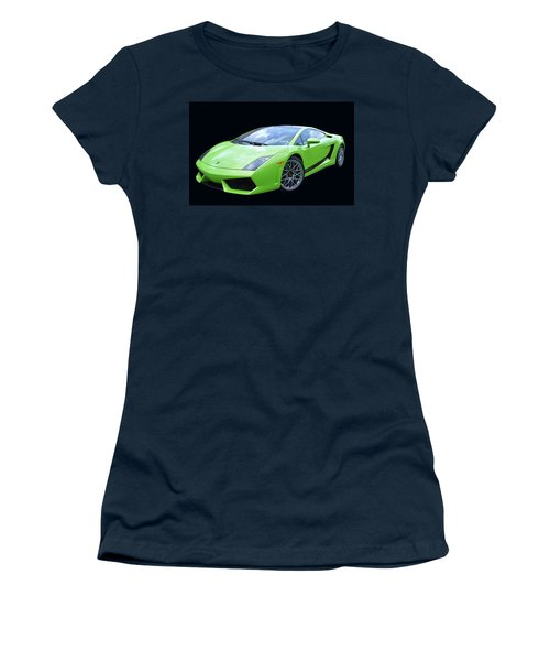 Lambourghini Salamone  Women's T-Shirt (Junior Cut) by Allen Beatty