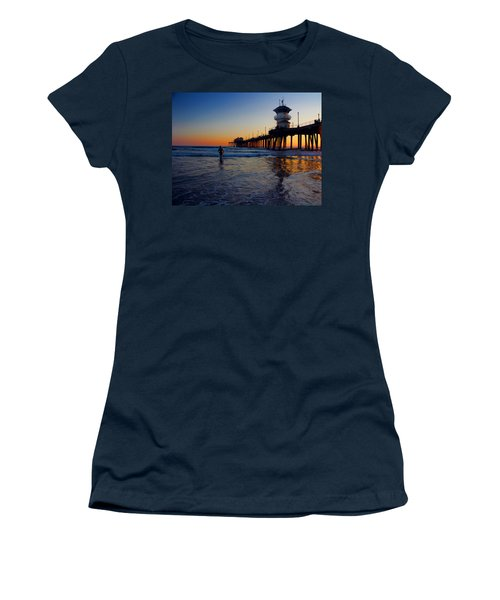 Last Wave Women's T-Shirt (Junior Cut) by Tammy Espino
